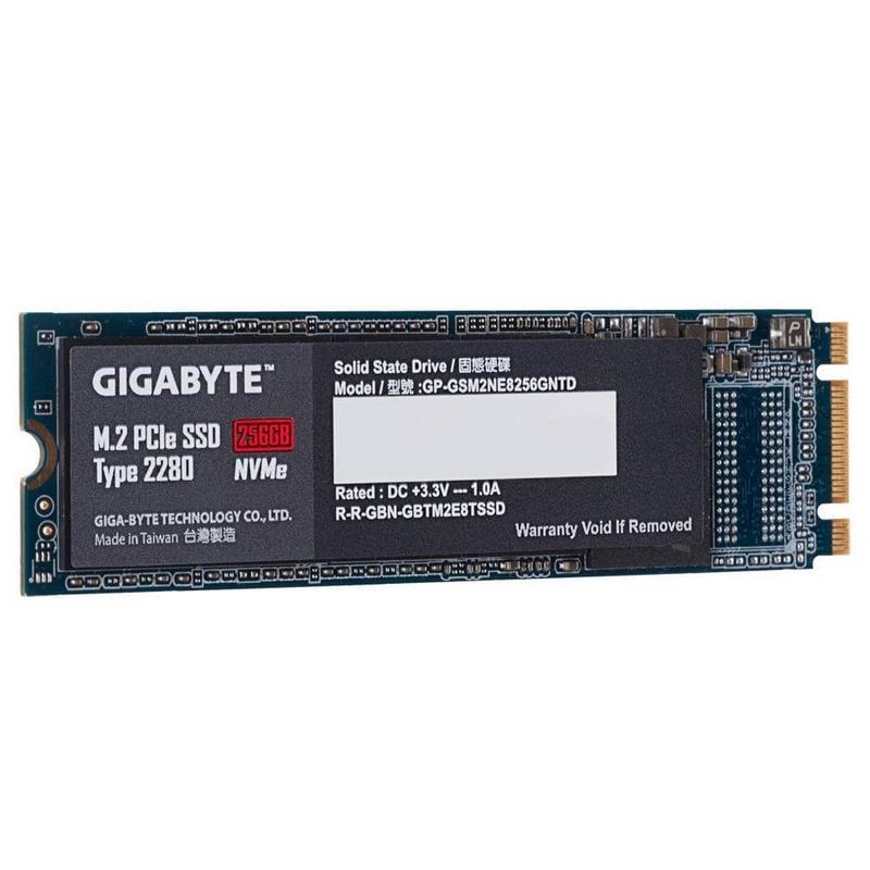 Gigabyte SSD M.2 256GB 2280