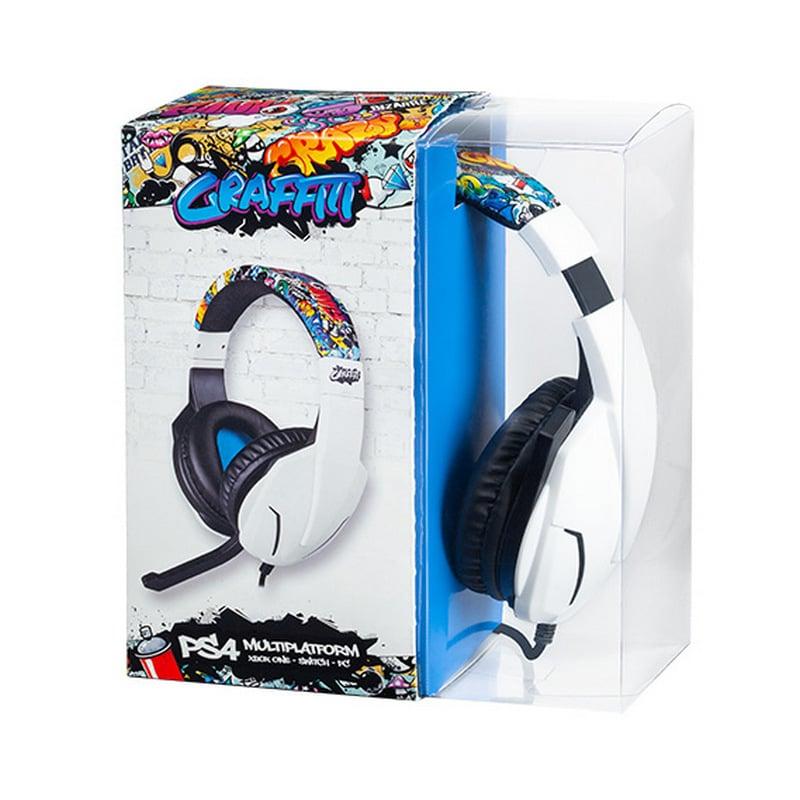 Indeca Graffiti Auricular Gaming Multiplataforma