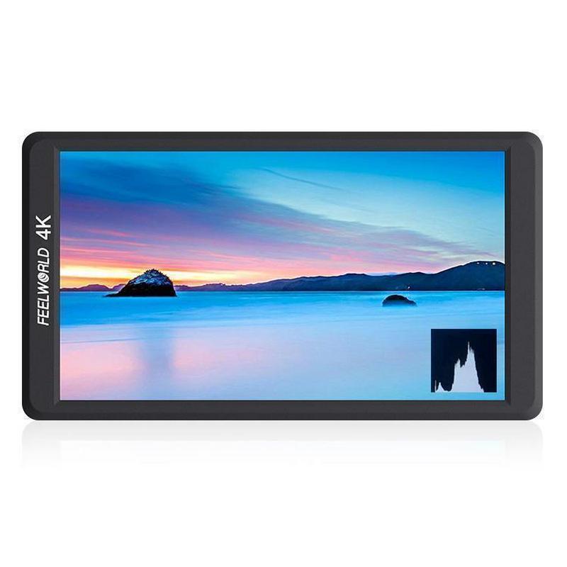 """Feelworld F570 Monitor Externo 5.7"""" IPS HDMI 4K"""
