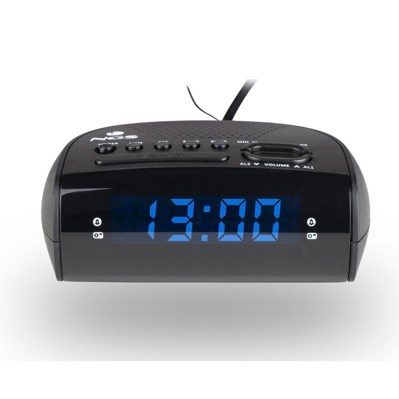 NGS Sunrise Hit Despertador con Radio