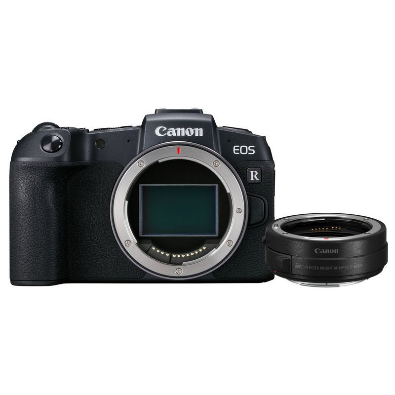 Canon EOS RP 26.2 MP Cuerpo + Adaptador EF-EOS R