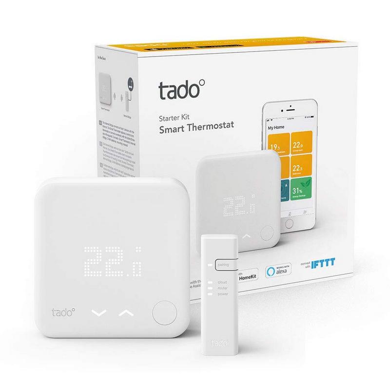 Tado Kit Inicio V3+ Termostato Inteligente De Calefacción