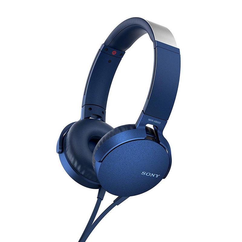 Sony MDR-XB550AP Extra Bass Auriculares Azul