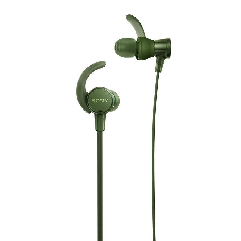 sony mdr-xb510as auriculares deportivos verde