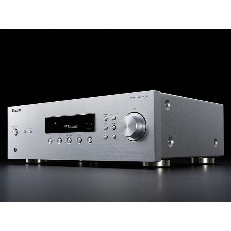 Amplificador est/éreo para Equipo de Audio Plateado Pioneer A-10-S