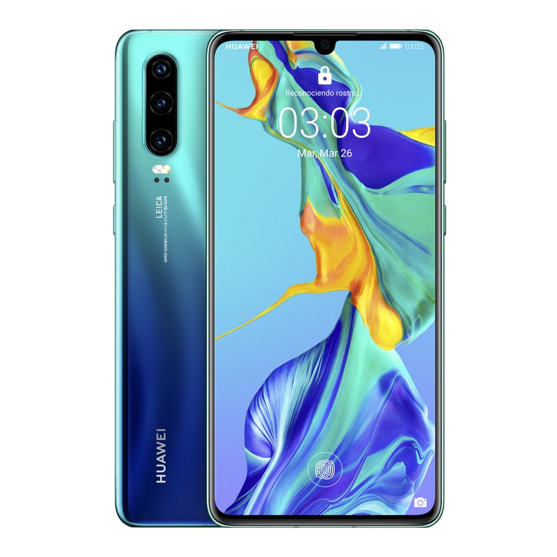Huawei P30 6/128GB Aurora Libre
