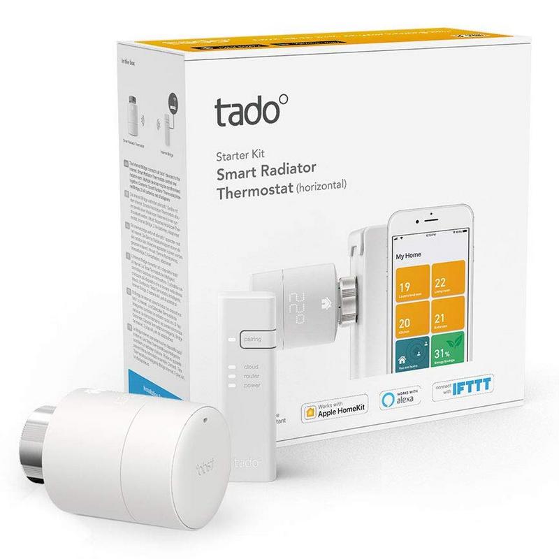 Tado Kit Inicio Cabezal Termostático Inteligente + Bridge Internet Para V3+