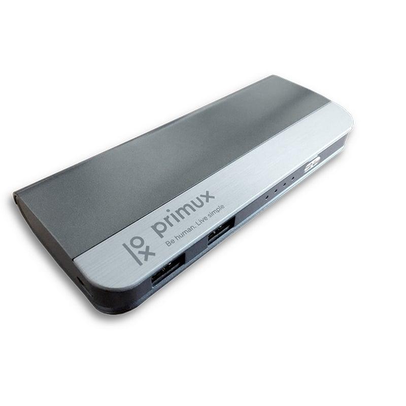 Primux PWB Batería Portátil 10000mAh Metálica