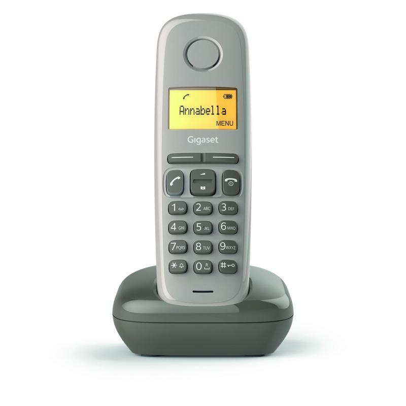 Gigaset A170 Teléfono Dect Chocolate