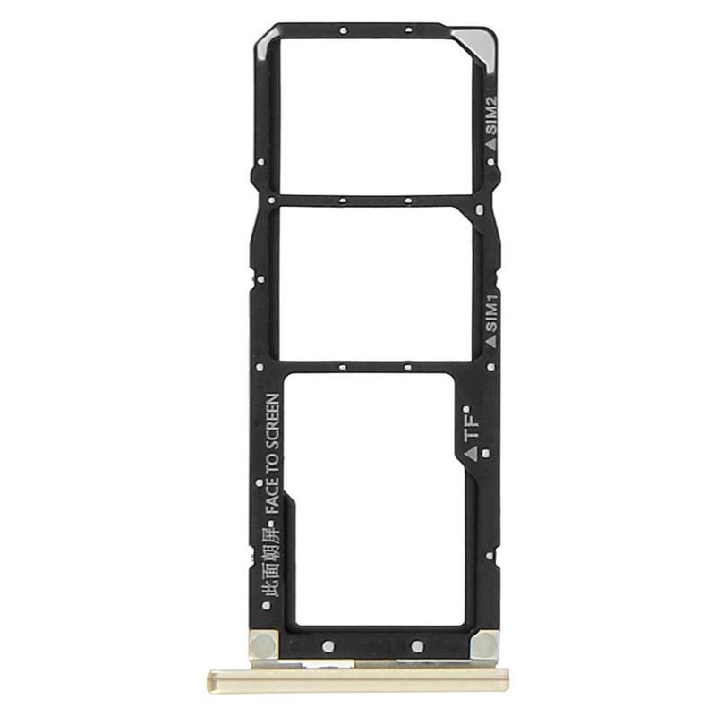 Avizar Repuesto Bandeja Tarjeta Nano SIM Dorada para Xiaomi Redmi S2