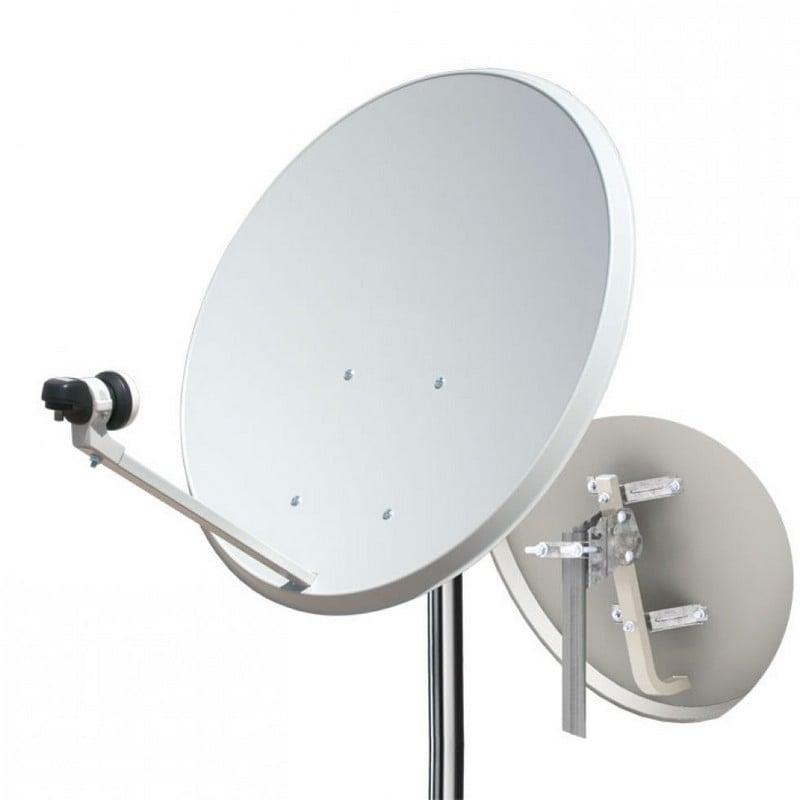 Kit antena parabolica 60cm lnb soporte pared - Precio antena parabolica ...