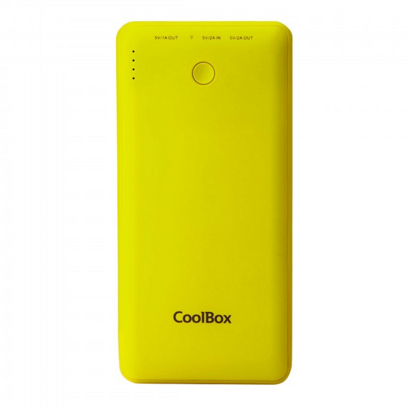 CoolBox Powerbank 10000mAh Amarilla para Smartphones