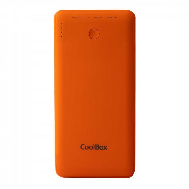 CoolBox Powerbank 10000mAh Naranja para Smartphones