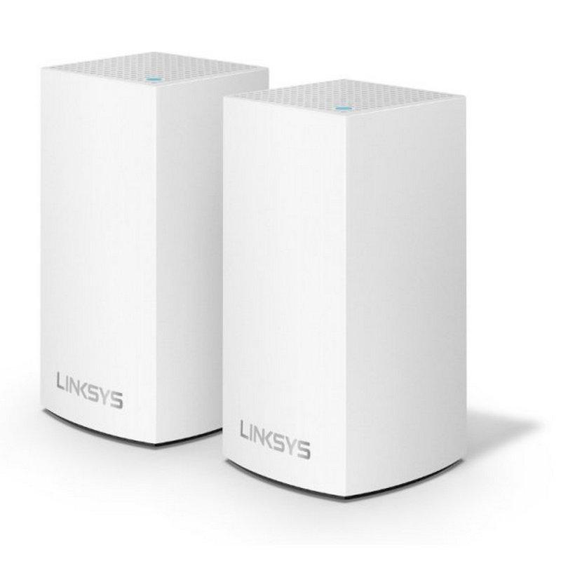 Linksys Velop Wifi Intelligent Mesh Dual Band AC2600 2 Nodos