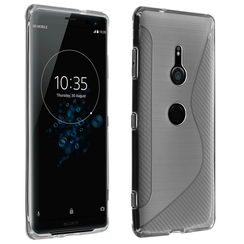 6891ce676ed Avizar S-Line Funda de Silicona Flexible Transparente para Sony Xperia XZ3