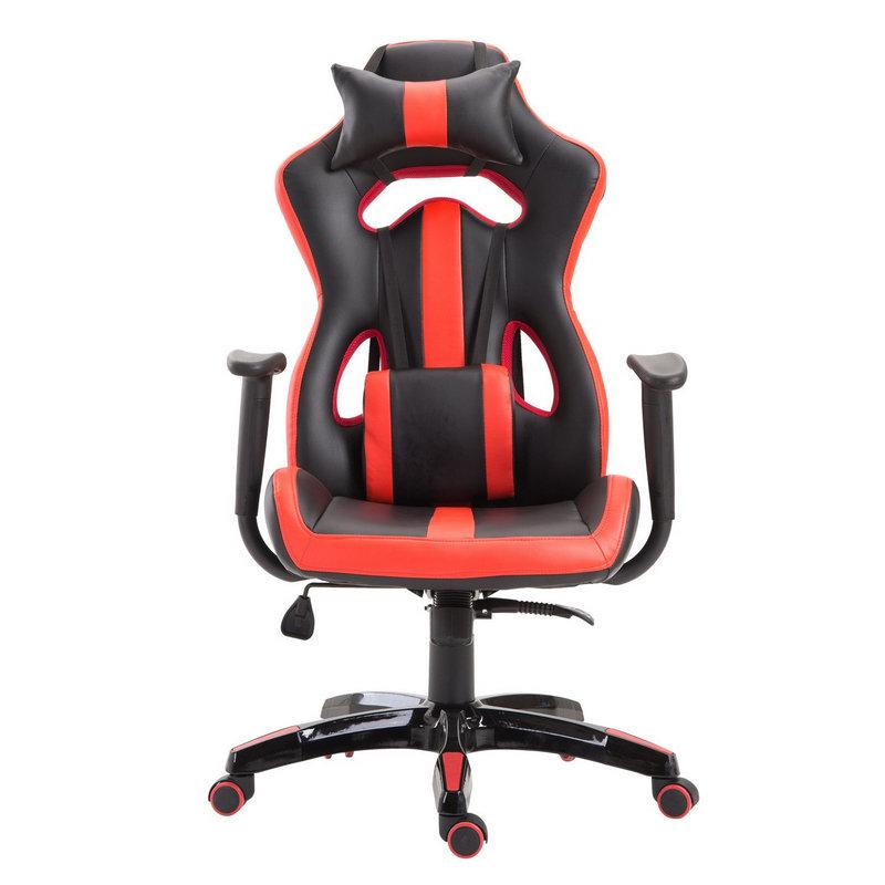 HomComSilla Racing Gaming Deportiva Negra/Roja