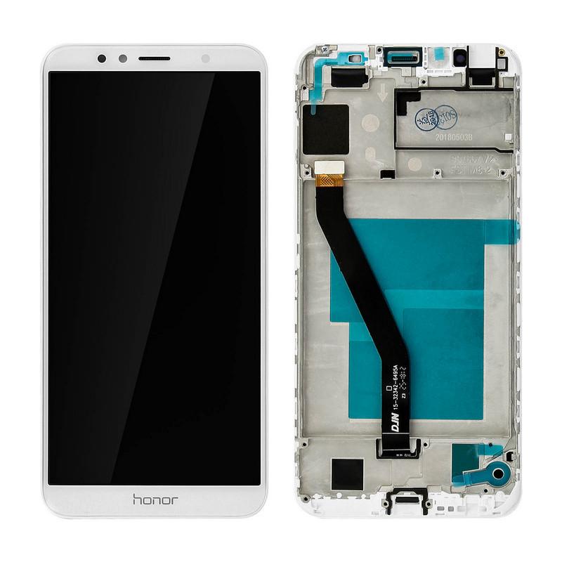 Clappio Repuesto Pantalla LCD/Táctil Blanca para Honor 7A