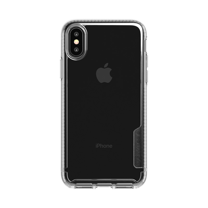 Tech21 Pure Clear Funda De Silicona Transparente Para Apple IPhone X / XS