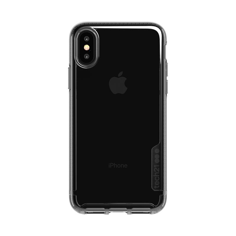 Tech21 Pure Tint Funda De Silicona Negra Transparente Para Apple IPhone X / XS