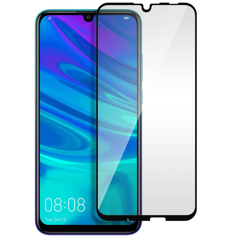 Avizar Protector Cristal Templado con Bordes Negros para Huawei P Smart 2019/Honor 10 Lite
