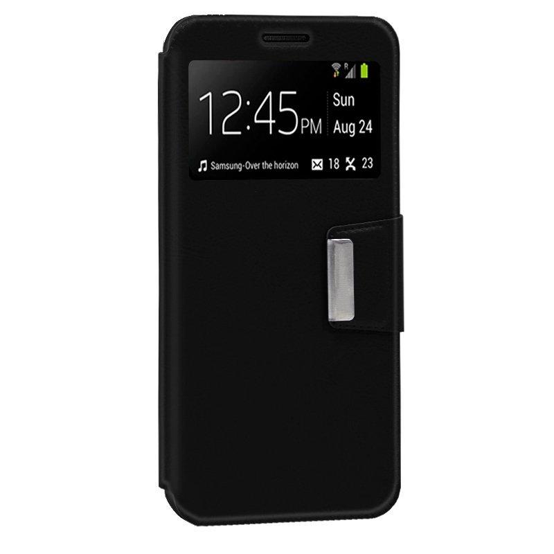 Cool Funda Flip Cover Liso Negro Para Xiaomi Redmi 6/6A