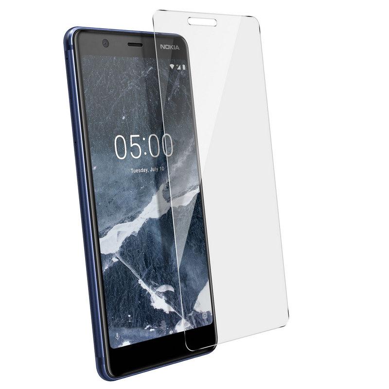 Avizar Protector Cristal Templado para Nokia 5.1
