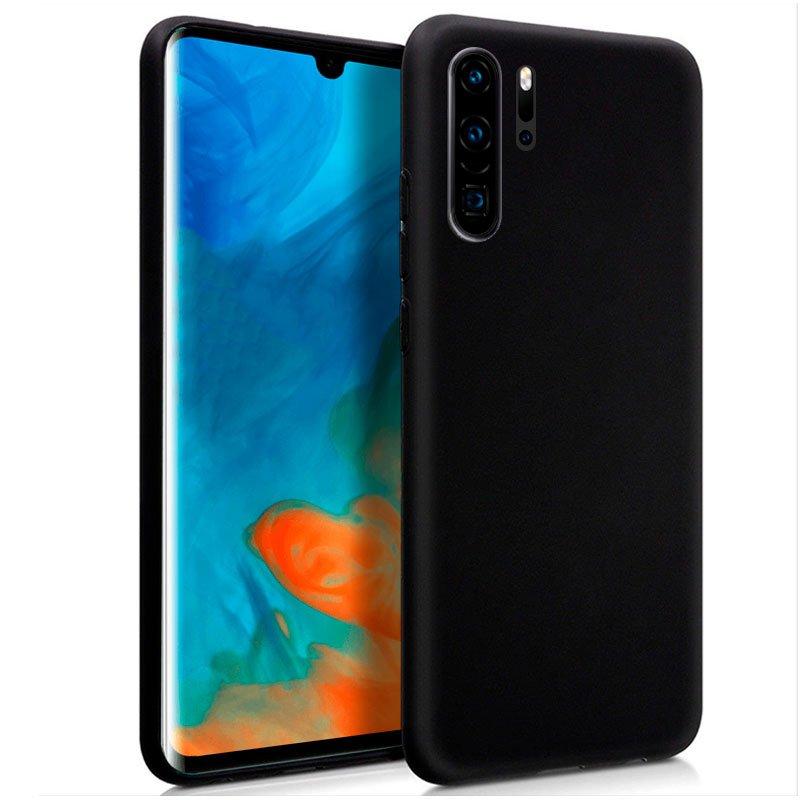 Cool Funda Silicona Negra para Huawei