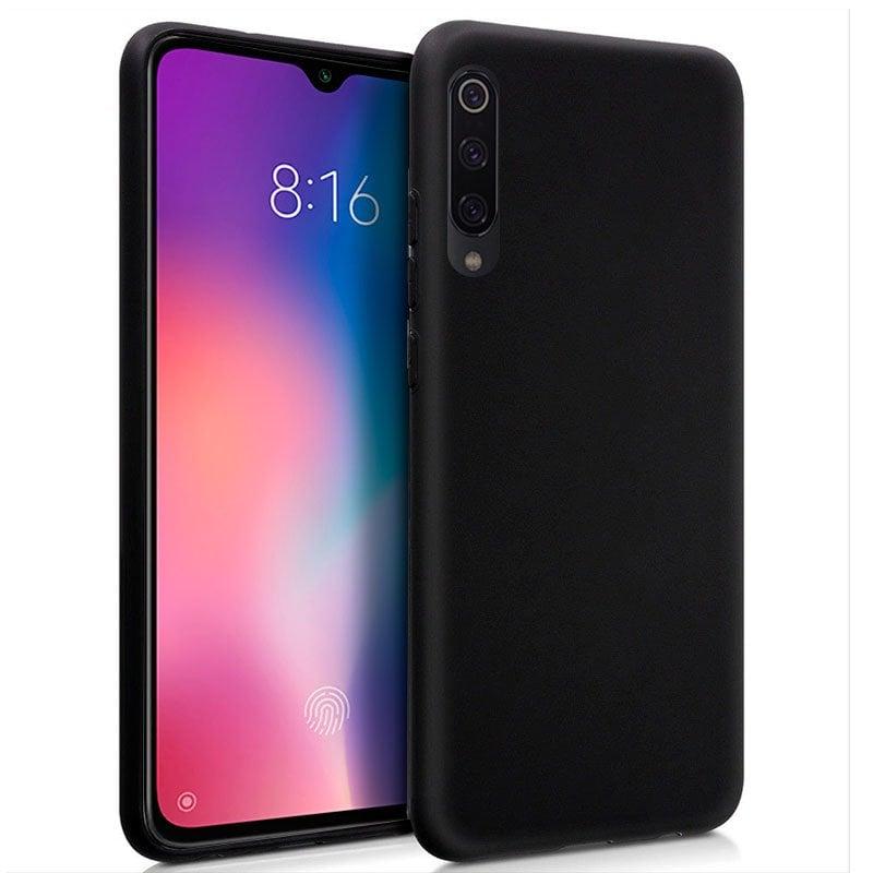 Cool Funda Silicona Negra Para Xiaomi Mi 9