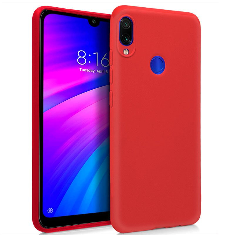 Cool Funda Silicona Roja para Xiaomi
