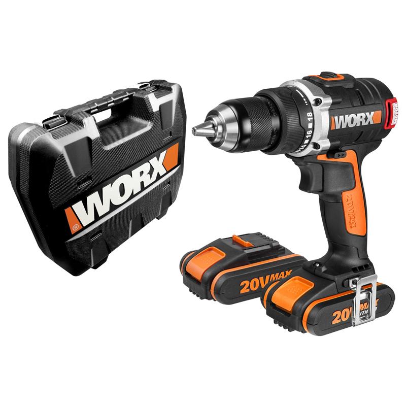 Worx WX175 Taladro Atornilldor + 2