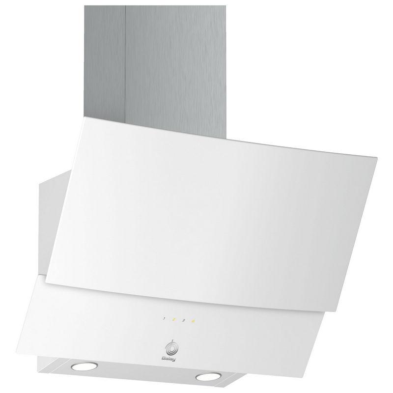 8e8121c9915 Balay 3BC565GB Campana Decorativa Diseño Inclinado 60cm Cristal Blanco