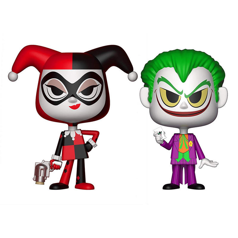 Funko Vynl DC Superhéroes Pack 2 Harley Quinn & The Joker