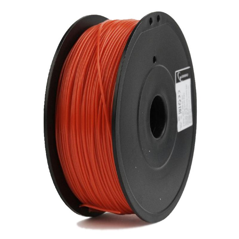 Gembird Bobina De Filamento ABS 1.75mm 0.6Kg Rojo