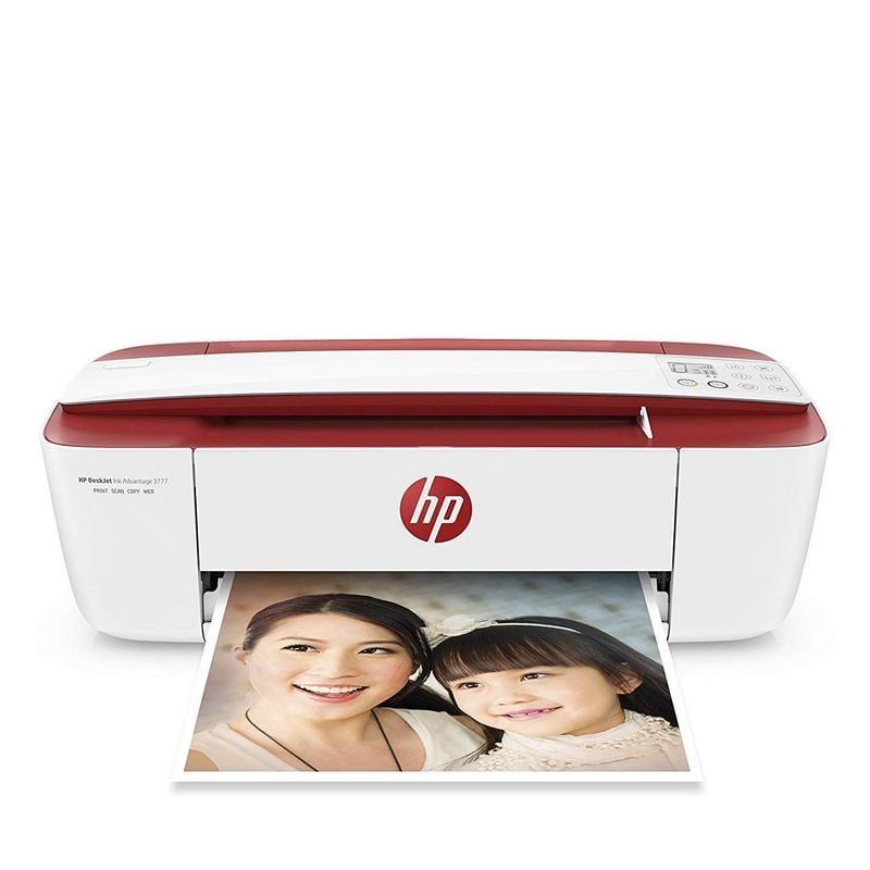 HP DeskJet 3764 Multifunción Color WiFi Roja
