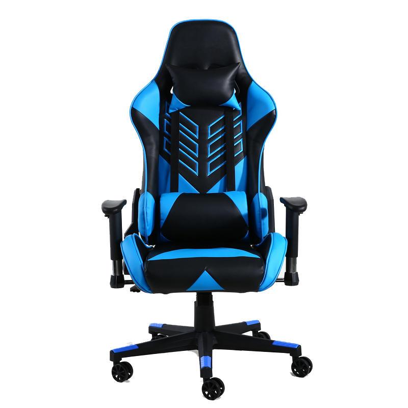 Oem F70 Silla Gaming Azul/Negra