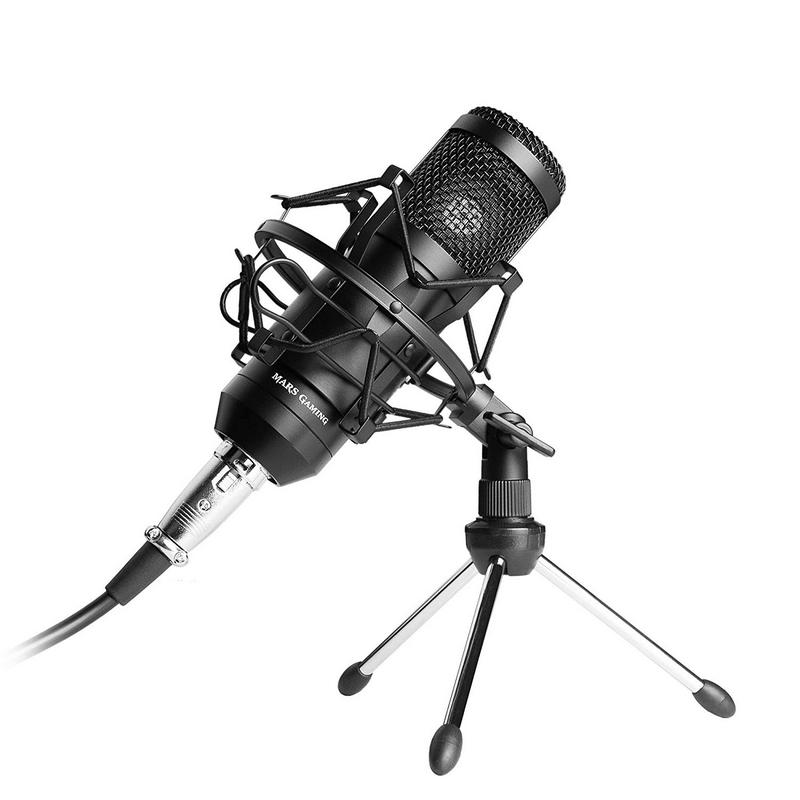 Mars Gaming MMICKIT Micrófono Condensador + Accesorios