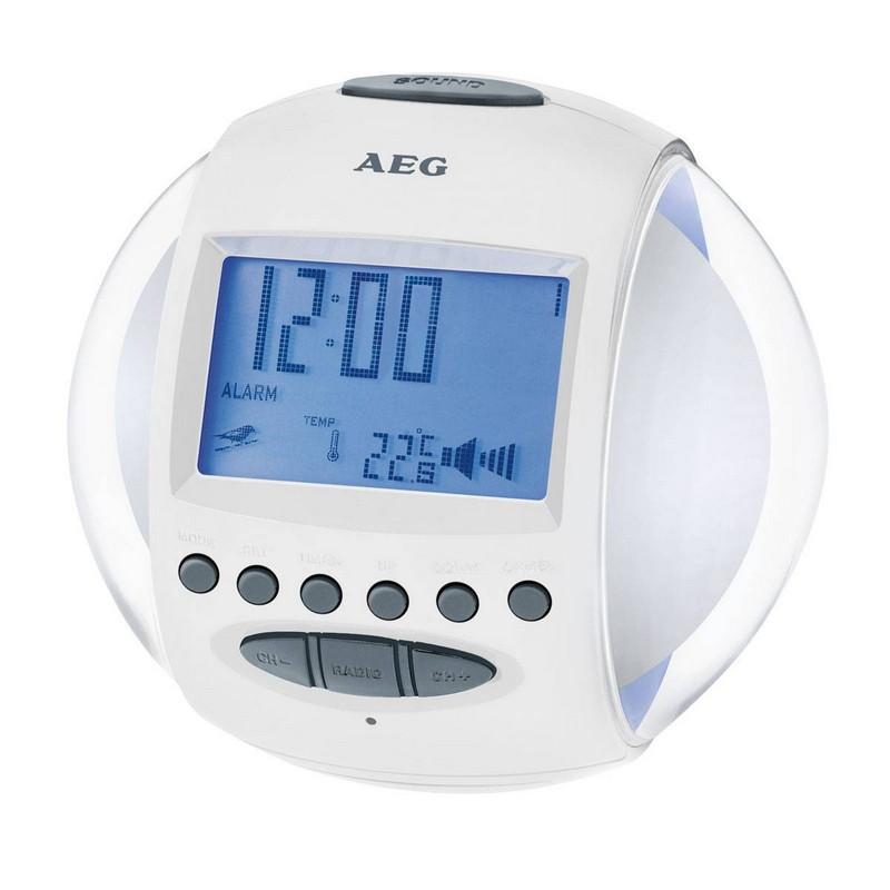 AEG MRC 4117 Radio Despertador Sonidos