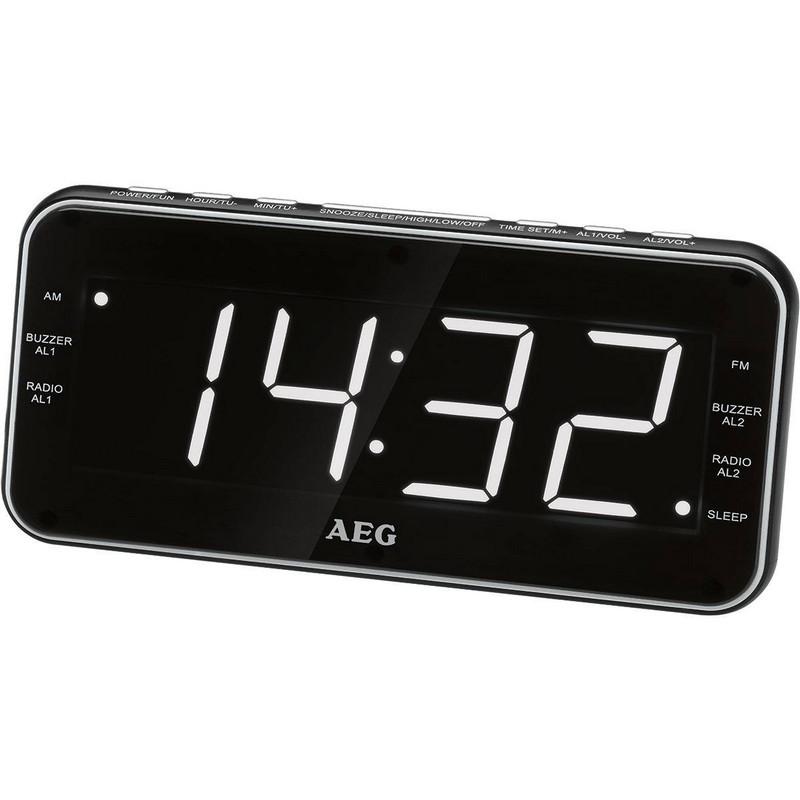 AEG MRC 4157 Radio Despertador Digital