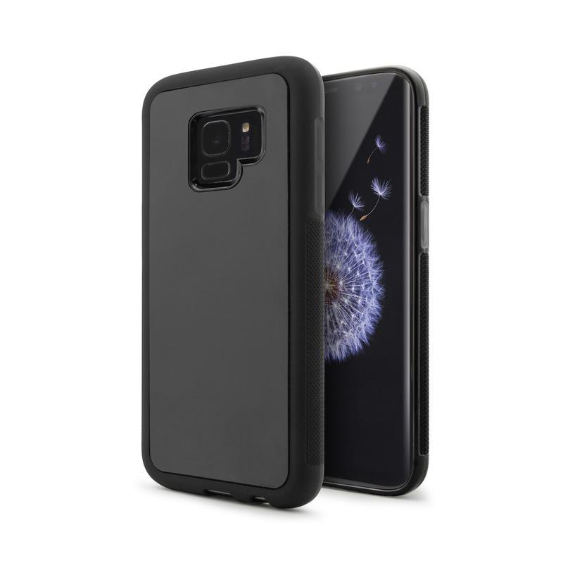 Nueboo Anti-Gravity Funda Negra para Samsung Galaxy S9