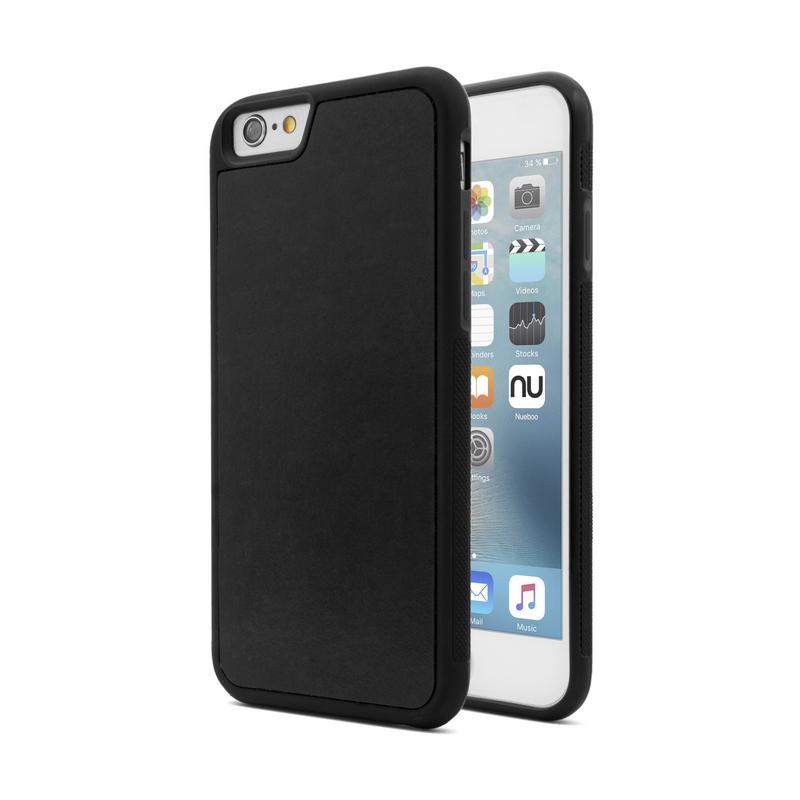 Nueboo Anti-Gravity Funda Negra para iPhone 6/6S