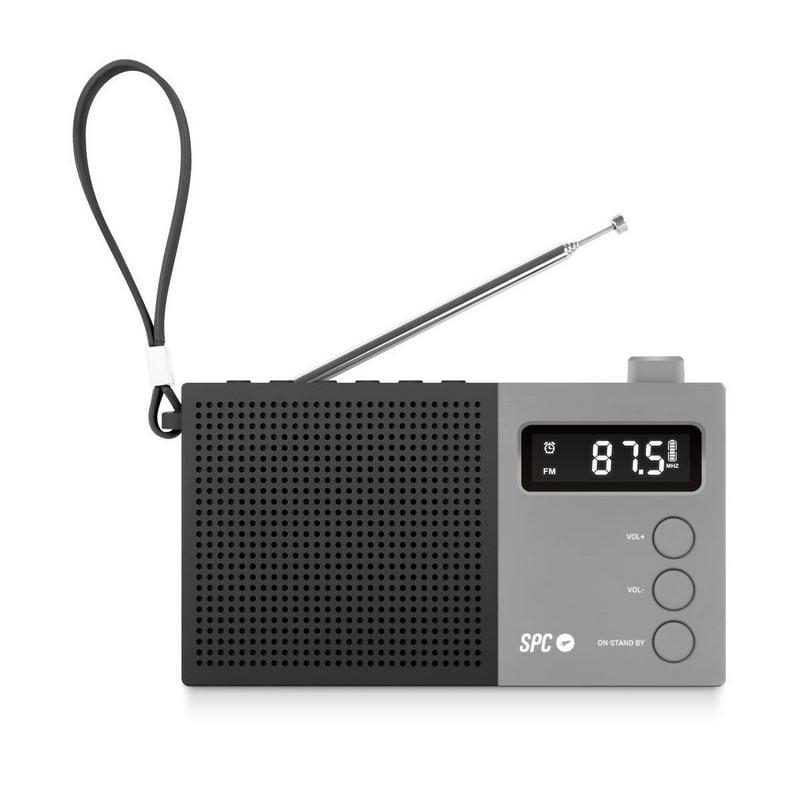 SPC Jetty Max Radio Portátil Despertador