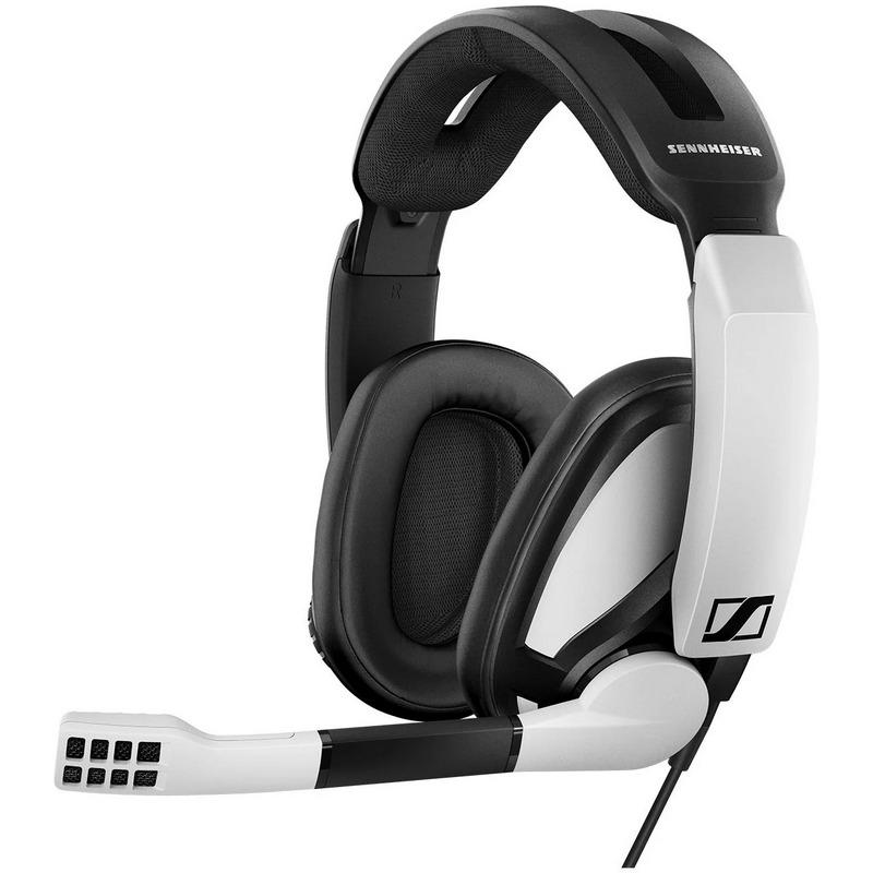 Sennheiser GSP 301 Auriculares Gaming Blanco/Negro