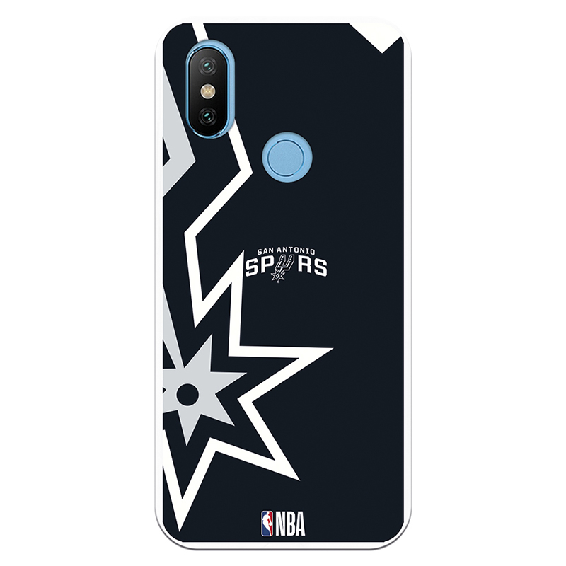 Be Unique Funda Gel NBA San Antonio Spurs para Xiaomi MI A2/6X