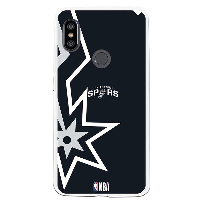 Be Unique Funda Gel NBA San Antonio Spurs para Xiaomi Redmi Note 6/Note 6 Pro