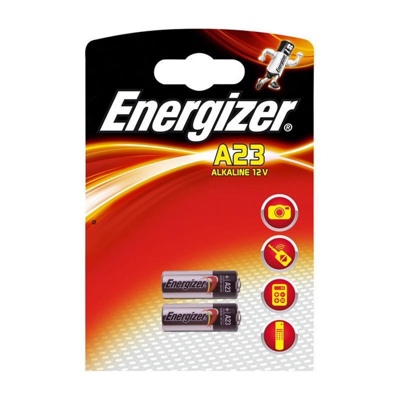 Energizer Pilas Alcalinas A23 12V 2 Unidades