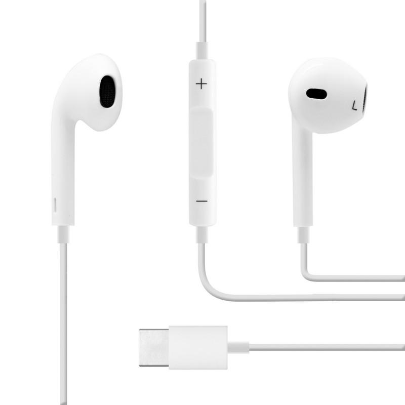 Unotec Auriculares con Manos Libres USB-C