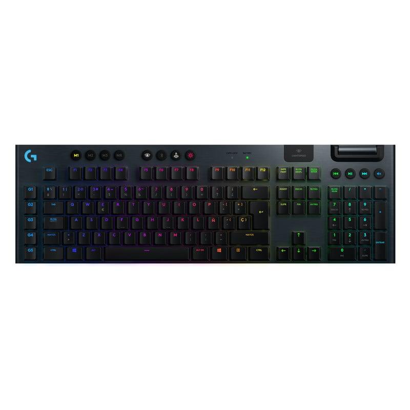 Logitech G915 Teclado Mecánico Gaming Inalámbrico RGB GL Táctil