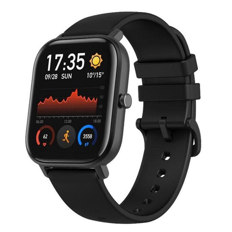 Amazfit GTS Reloj Smartwatch Obsidian Black