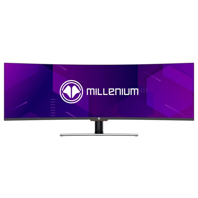 "Monitor Millenium 49 49"" QLED HDR Super UltraWide 32/9 144Hz Curva"