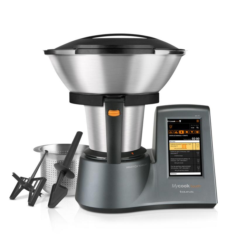 Taurus - Robot De Cocina Mycook Touch Con Conexión Wi-Fi Integrada